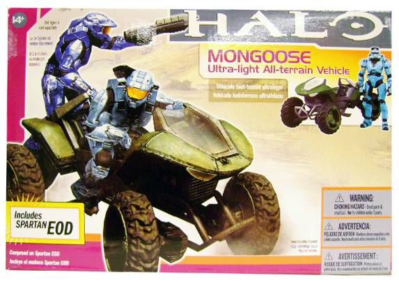 Halo 3 - Vehicles - Mongoose (includes Spartan EOD)