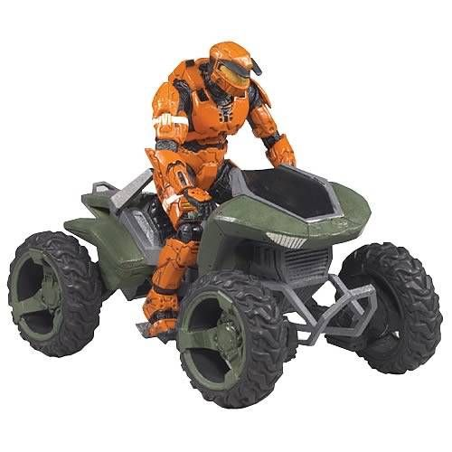 Halo 3 - Vehicles - Mongoose (includes Spartan MARK V)