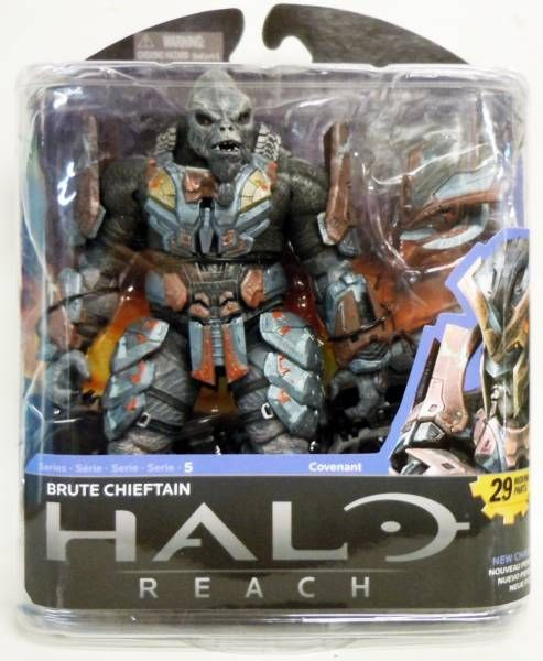 Halo Reach McFarlane Toys Series 5 Action Figure Brute Chieftain