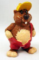 Hamster Willi - Figurine PVC  Schleich 1986 - Willi debout