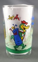 Hanna-Barbera - Verre à moutarde Amora - Walligator au Golf