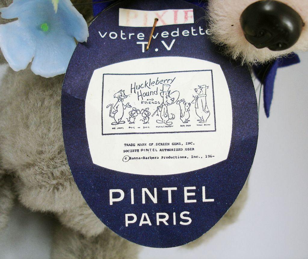 Hanna-Barbera\'s Pixie Dixie & Mr. Jinx - Peluche Pintel France - Pixie