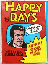 Happy Days - Topps Trading Bubble Gum Cards (1976) - Série complète 44 cartes + 11 stickers