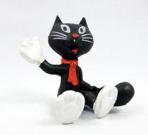 Haribo Katinchen - Figurine PVC Schleich - Katinchen assis