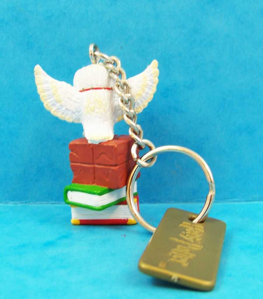Harry Potter - Achterbahn AG - Keychain - Hedwig & Books of Magic