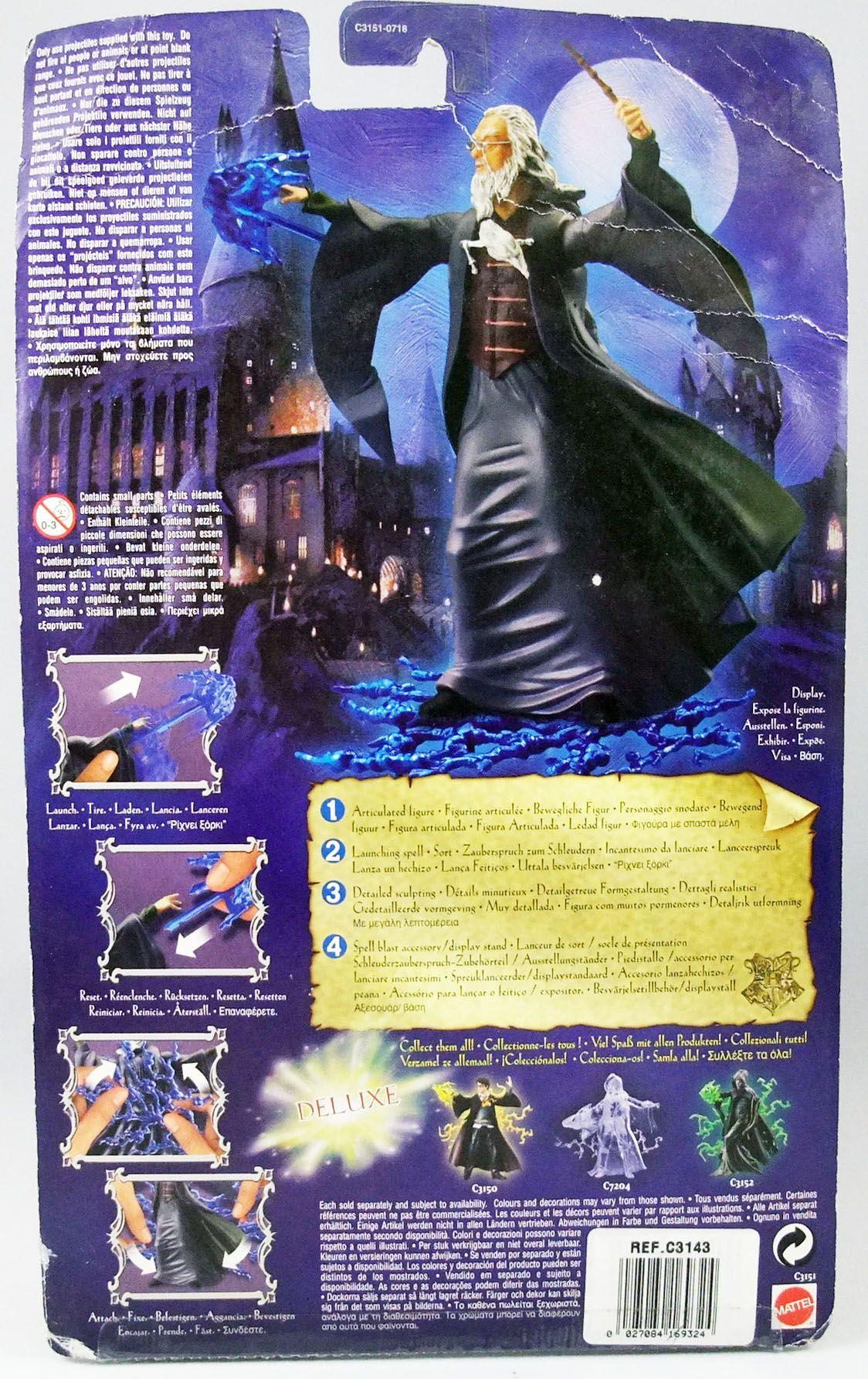 Harry Potter - Mattel - Figurine articulée 20cm Albus Dumbledore
