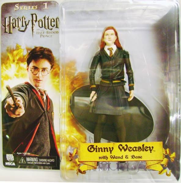 NECA Harry Potter The Half Blood Prince Ginny Weasley Action Figure