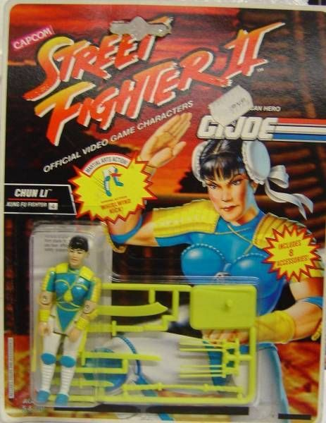 Hasbro - Chun Li (Street Fighter II / G.I.Joe)