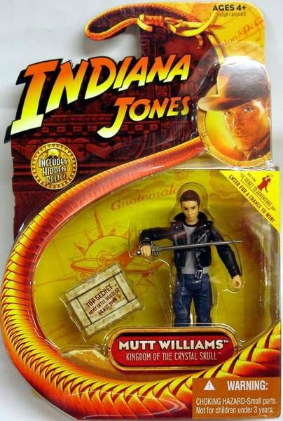 Hasbro - Kingdom of the Crystal Skull - Mutt Williams (with leather jacket)