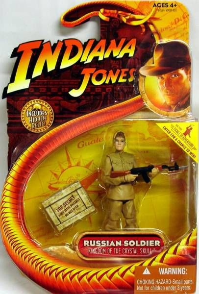 Hasbro - Kingdom of the Crystal Skull - Russian Soldier