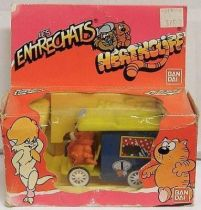 Heathcliff - Bandai - Heathcliff\'s and Sonia\'s wagon