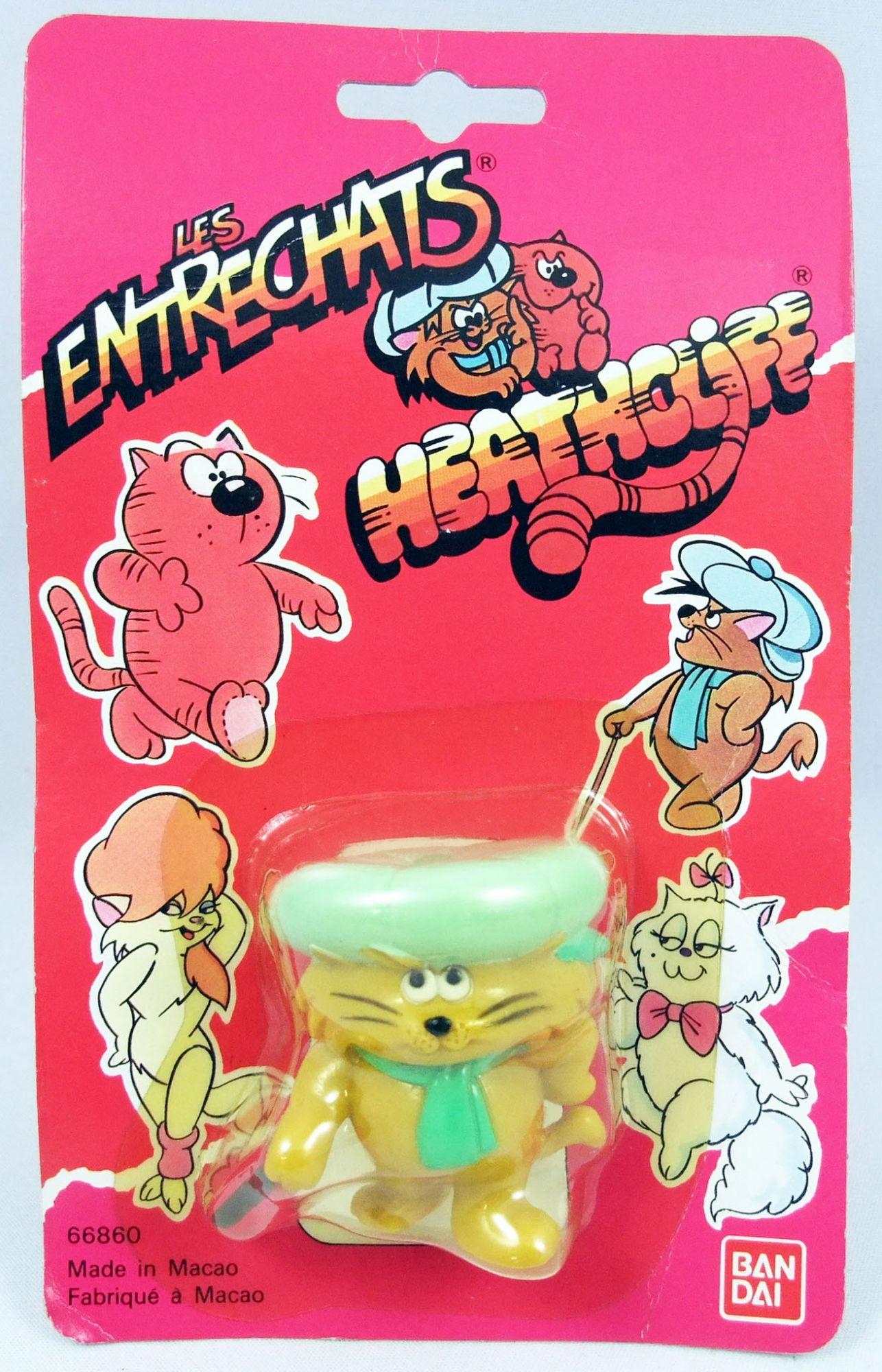 (Heathcliff - Bandai - pvc figure Riff-Raff with stick (Mint on card)