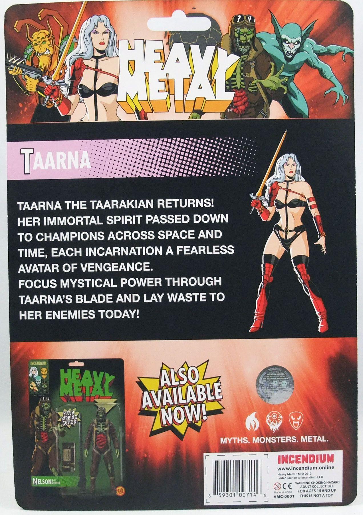 Heavy Metal - Taarna The Taarakian - 5 U0026quot  Action-figure