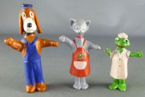 Hector - Plastic figure Jim - Complete Set 3 Pièces Hector Zouzou Kiki