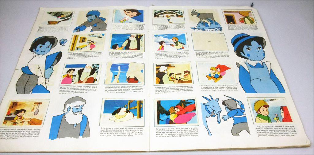 Heidi - Album collecteur de vignettes AGE