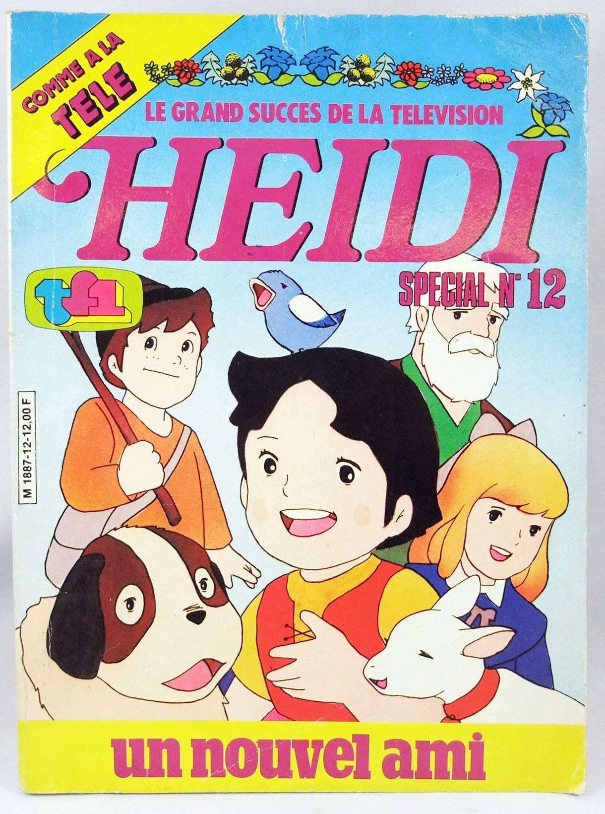 Heidi - Bande dessinée - Heidi Special n°12 : Un nouvel ami