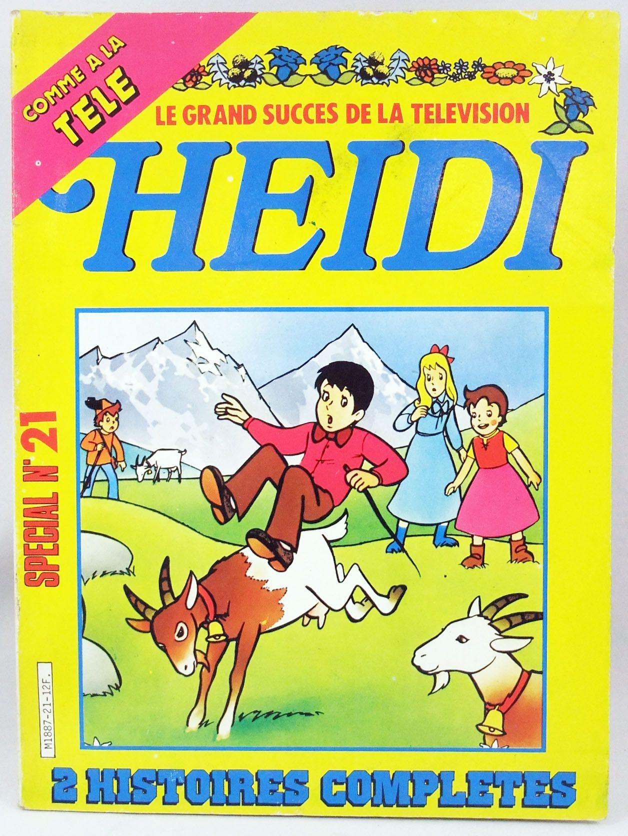 Heidi - Bande dessinée - Heidi Special n°21 : La bonté du grand-père