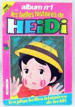 Heidi - Bande dessinée - Les belles histoires de Heidi album n°1