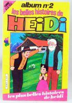 Heidi - Bande dessinée - Les belles histoires de Heidi album n°2