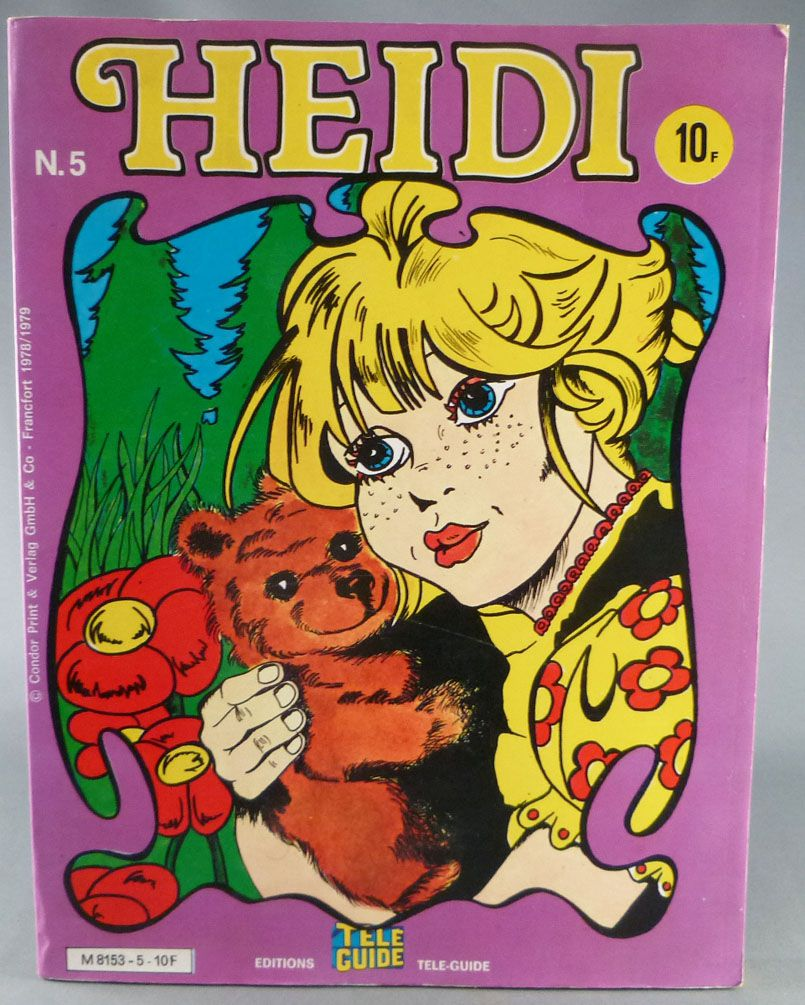Heidi - Editions Télé-Guide - N° 5