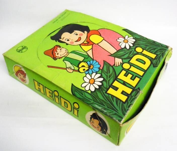 Heidi - set of 5 PVC  Heimo figures (+ Display Store)