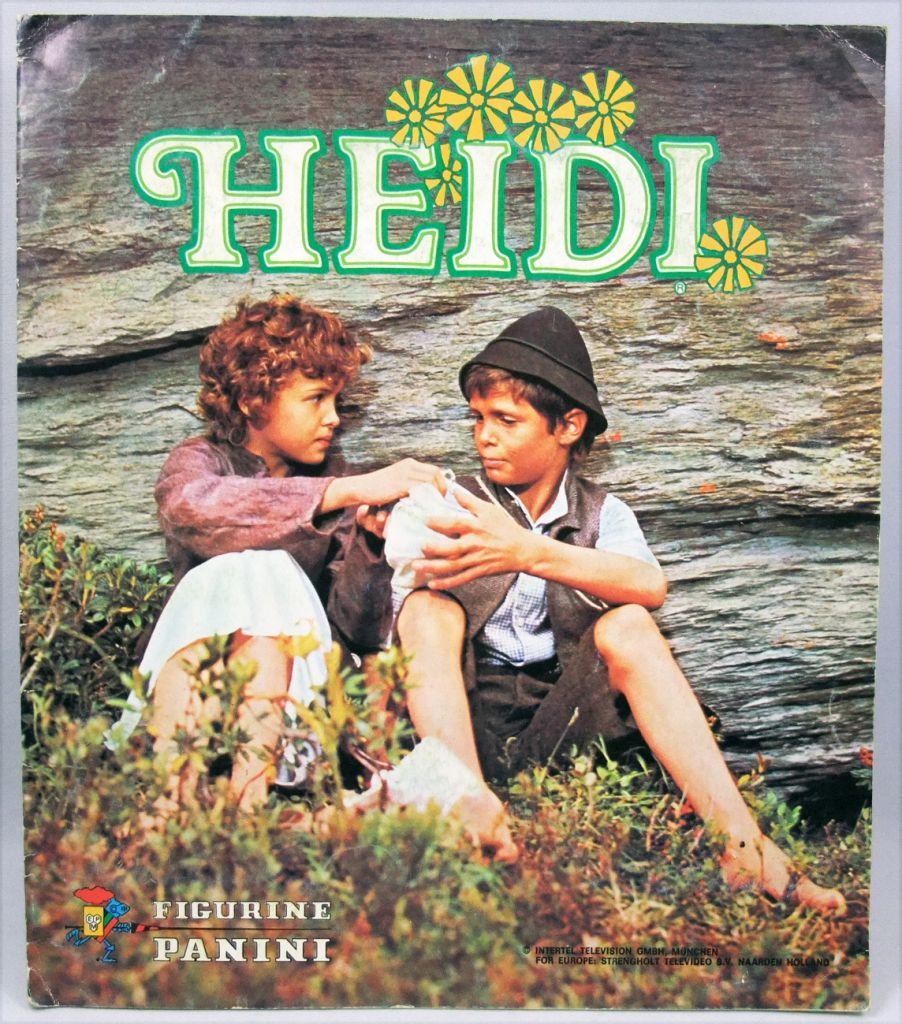 Heidi (Série TV) - Album Collecteur de Vignettes Panini