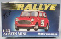 Heller - N°80153 Austin Mini 1:43 Mint in Sealed Box
