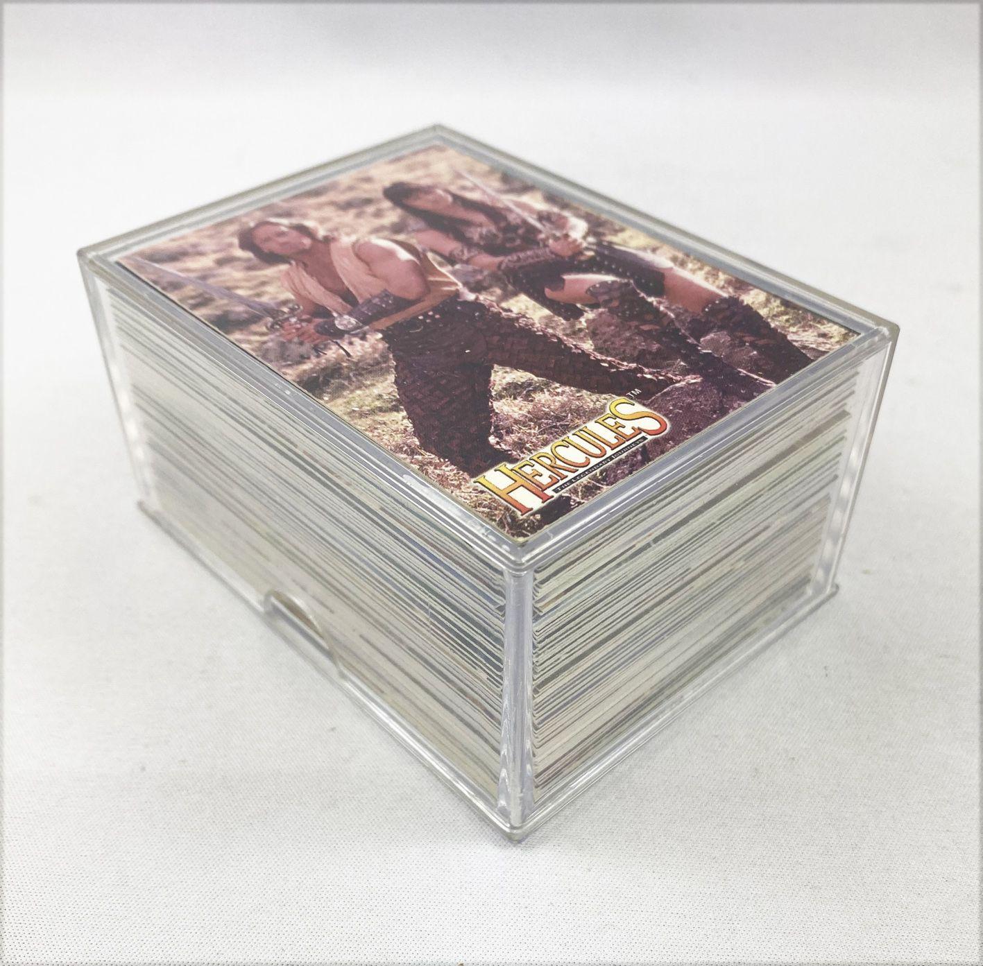 Hercules - Topps Trading Cards (1996) - Série complète de 90 cartes + 9 cartes relief + 2 Hologrammes