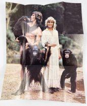 Here\'s Bo - Set of 12 mini-poster Fleer Stick Gum (1980) - Pictures from John Derek