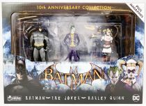 Hero Collector - Batman Arkham Asylum - Batman, The Joker, Harley Quinn
