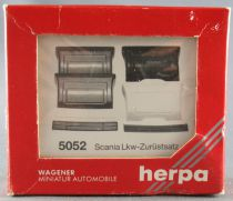 Herpa 5052 Ho 1:87 Docking Kit for Scania Truck Mint in Box