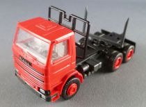 Herpa Ho 1/87 Tracteur Camion Scania 142M Fardier Rouge