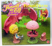 Herself the Elf & Friends - Flower House playset - Mattel