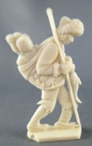 Heudebert - The Frozen North - N°12 Eskimos carrying baby on back