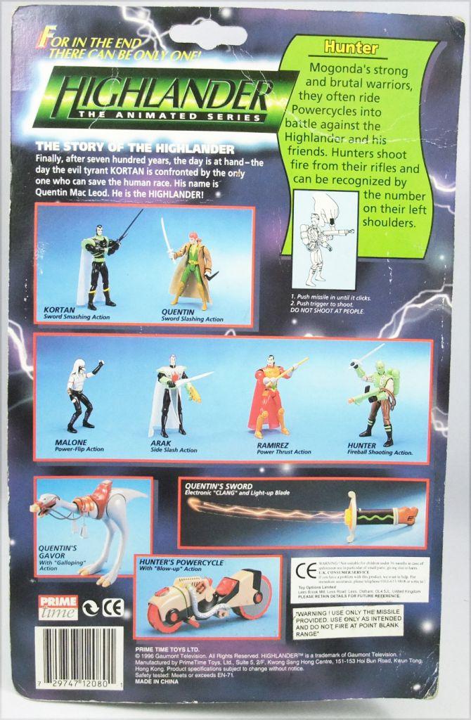 Highlander The Animated Series - Hunter - Figurine Prime Time Toys