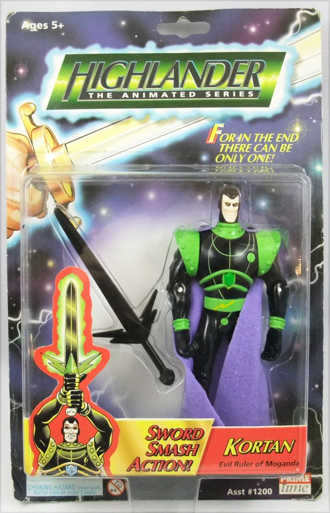 Highlander The Animated Series - Kortan - Figurine Prime Time Toys