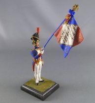 Historex - Napoleonic - Footed Artillerie de la Garde Flag-Holder