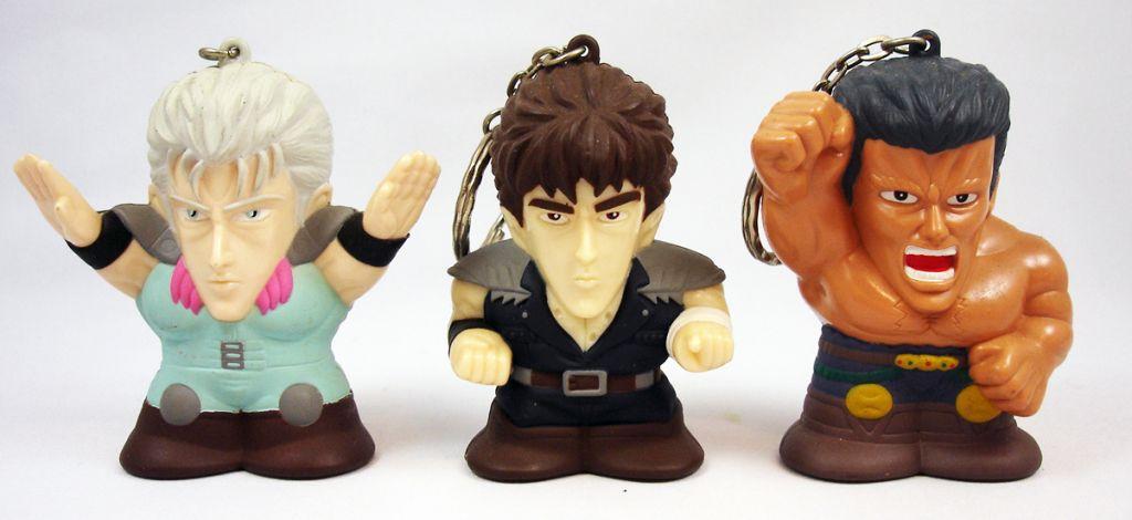 Ken le Survivant - Set de 3 Figurines porte clé parlantes - Banpresto