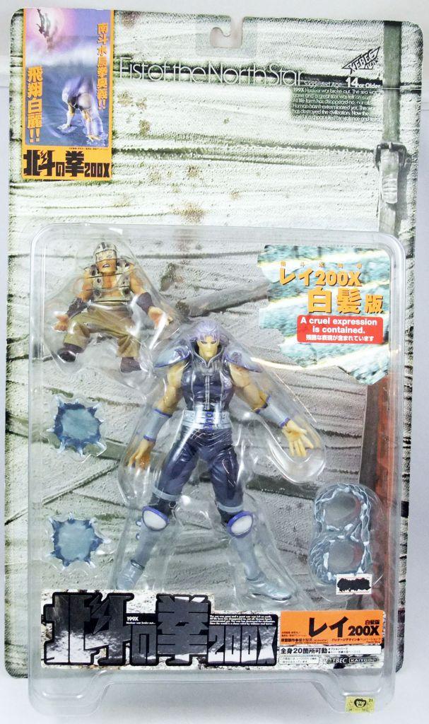 """Hokuto no Ken le Survivant - Xebec Toys - Figurine 200X - Rei \""""repaint version\"""""""