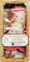 Holly Hobbie - Knickerbocker - Carrie, Holly Hobbie\'s friend 8\'\' Stuffed Doll (Mint in Box)