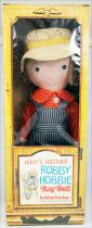 Holly Hobbie - Knickerbocker - Robby Hobby, Holly Hobbie\\\'s brother 14\\\'\\\' Stuffed doll (Mint in Box)