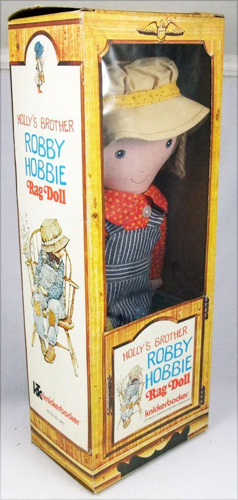 Holly Hobbie - Knickerbocker - Robby Hobby, Holly Hobbie\\\'s brother 14\\\'\\\' Stuffed doll (Mint in Box)