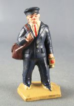 Hornby 0 Gauge 40 mm Plastic Figure Rail Personnel with Lamp