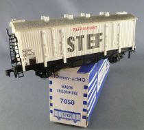 Hornby AcHo 7050 Ho Sncf Stef Fridge Wagon White Livery Boxed