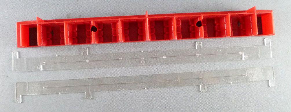 Hornby AcHo 7370 Ho Sncf Pièce Détachée Aménagement Intérieur & Vitrages pour Voiture Dev Inox A8 MYFI 1006 1° Clx
