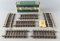 Hornby AcHo 756 Ho 6 x Brass One-Third Straight Track 2 Cuts Mint in Box