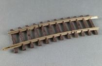 Hornby AcHo 7630 Ho 1 Brass Curved Half Track 2 cuts R 381