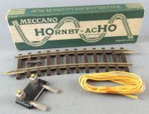Hornby AcHo 764 1 Demi Rail Courbe R=381 1 Coupure Laiton Neuf Boite