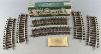 Hornby AcHo 767 Ho 6 x Brass Half Curved Track R=439 Mint in Box
