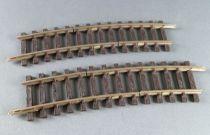Hornby AcHo 7670 Ho 2 Brass Curved Half Tracks 2 cuts R 439